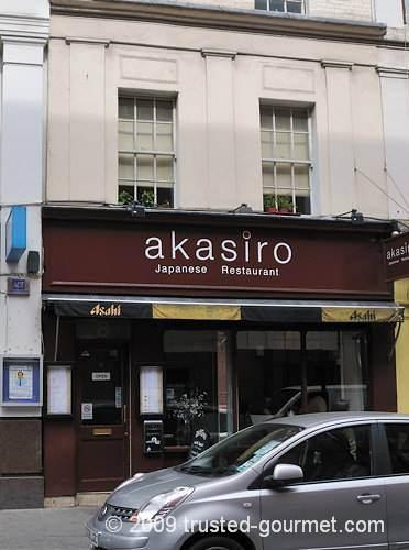 Japanese restaurant Akasiro