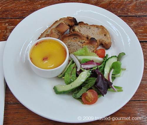 Potted chicken liver pate