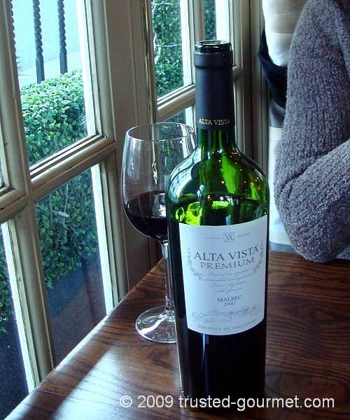 Alta Vista Premium Malbec 2007