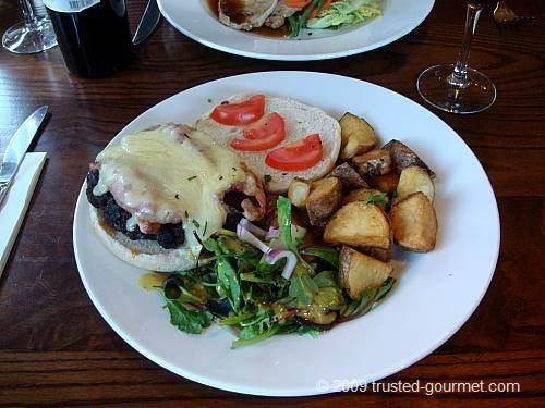 8oz exmoor beef burger