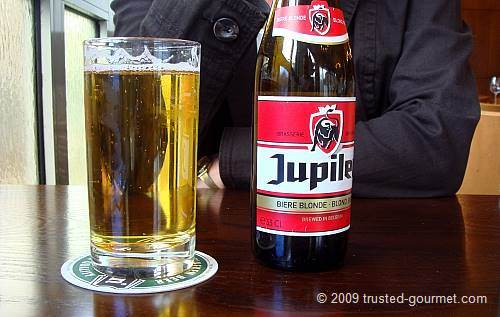 A good Jupiler beer!