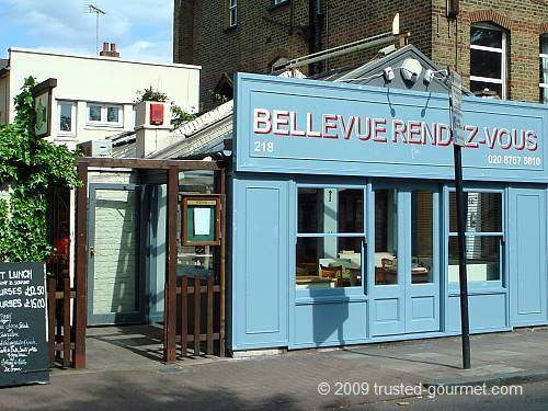 French restaurant Bellevue Rendez-vous