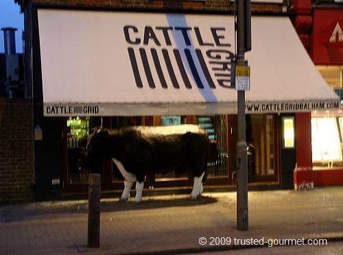 Cattle Grid restaurant in Balham