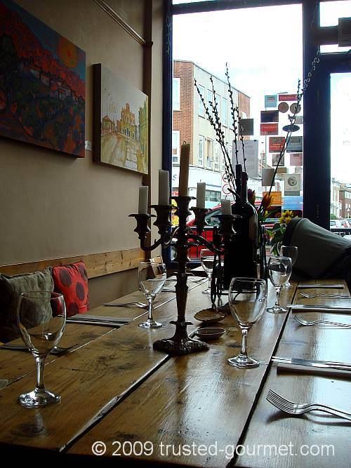 Inside Rick's Café