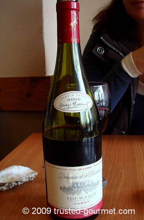 Easy to drink Henry Marionette Touraine Gamay 2007