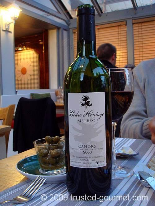 Nice Cahors wine