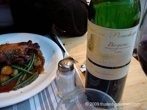 2005 Bergerac red wine