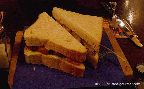 The doorstep fish finger sandwich!