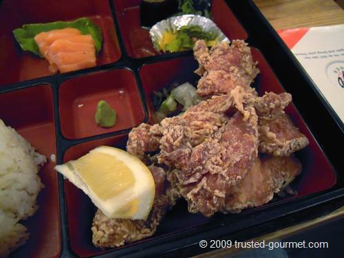 Details of the bento box
