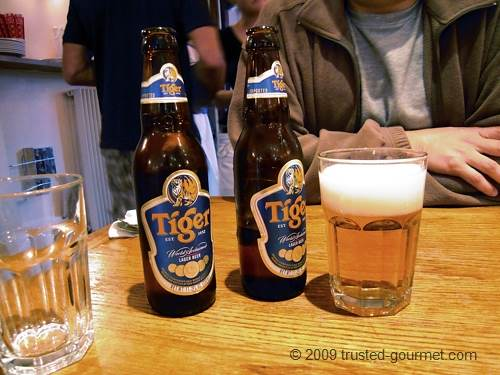 Tiger (Singapore) beer