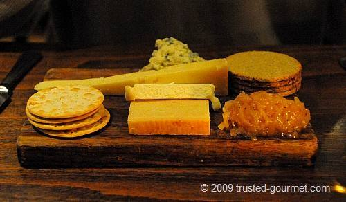 Four British cheese