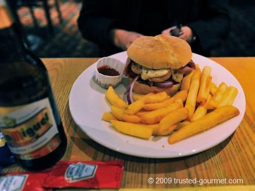 """Gourmet burgers"""