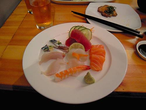 Sashimi set