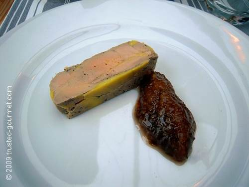 Foie gras et chutney