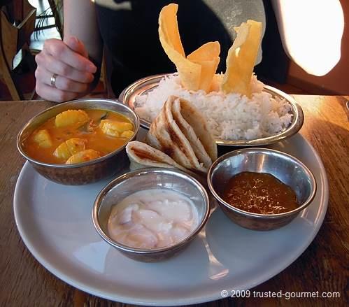 Kandian scallops