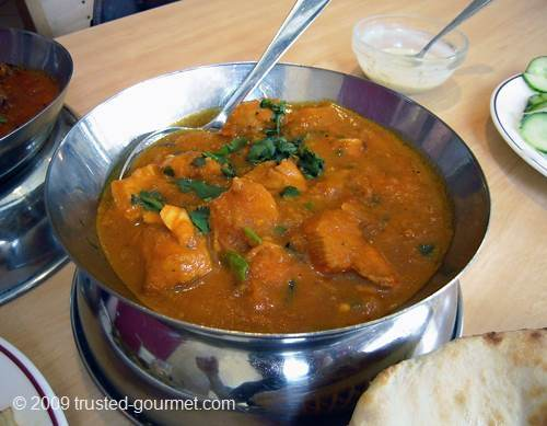 Karahi butter chicken