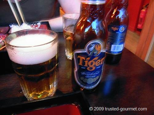 Good Tiger beer