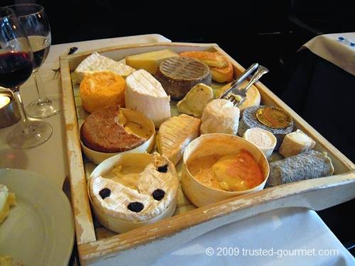 The cheese board