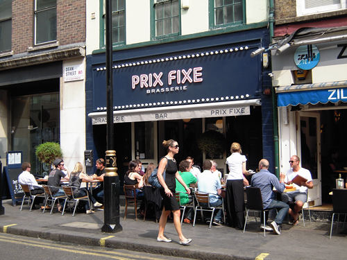 Prix Fixe Brasserie