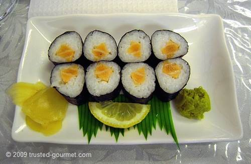 Salmon rolls