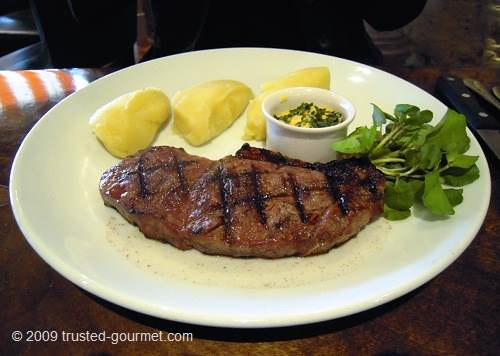 Char-grilled Sirloin 