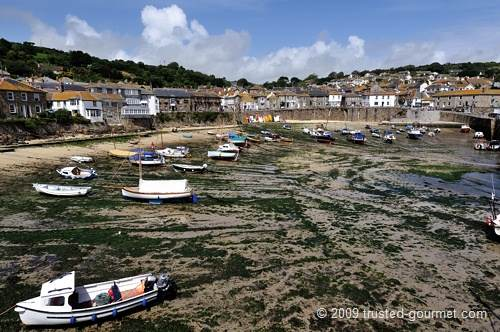 Mousehole's harbour