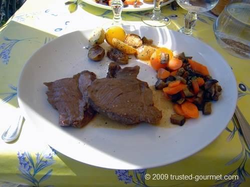 Gigot d'agneau (lamb)