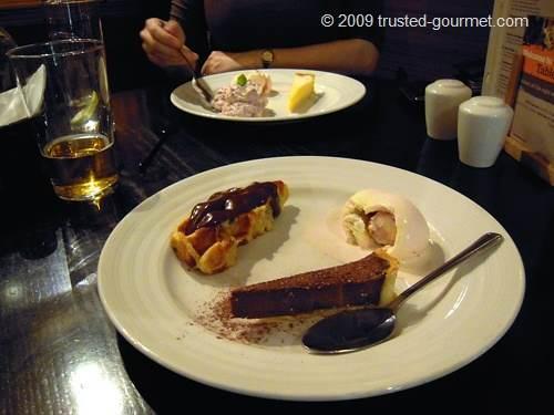 The desserts