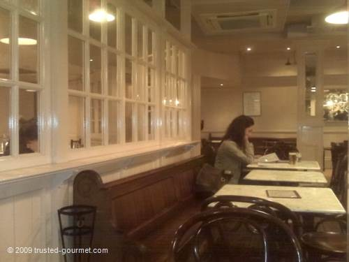 Inside Bedford & Strand