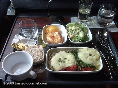 Eurostar meal