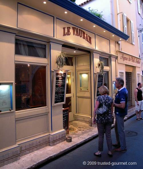 Antibes restaurant le vauban french riviera trusted gourmet for Restaurant antibes