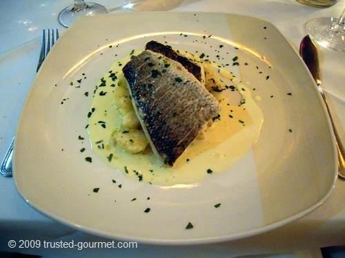 Panfried Seabass Filet