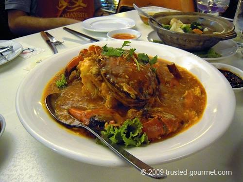 Chilli crab
