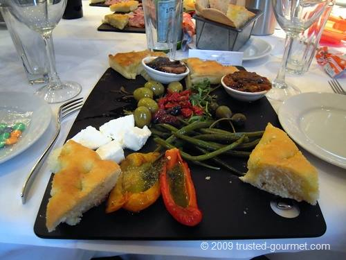 Great vegetarian platter