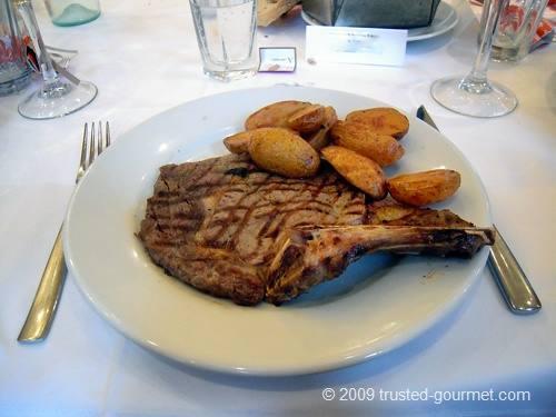 Bistecca di Bue con Patate