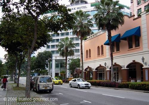 The Park Hotel Clarke Quay located close to the restaurant