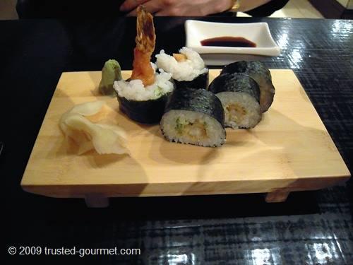 Prawn tempura roll
